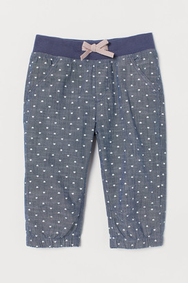 H&M 3/4-Length Pull-On Trousers