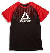 Reebok Boys 8-20 Boys Colorblocked Logo Tee