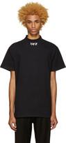 Off-White Black 'Off' Mock Neck T-Shirt