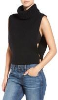 Joe's Jeans Women's 'Marlow' Open Side Wool Turtleneck Vest