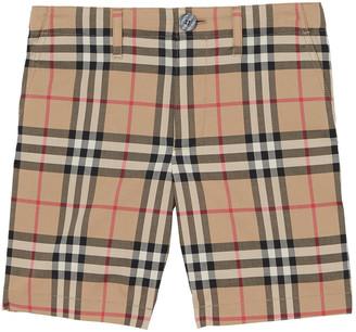Burberry Boy's Tristen Vintage Check Shorts, Size 3-14