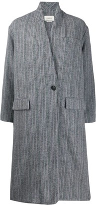 Etoile Isabel Marant Oversized Striped Coat