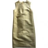 Prada Yellow Wool Dress for Women