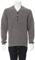 Marc Jacobs Cashmere Waffle Knit Sweater