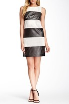Muse Perforated Stripe Dress M2429M