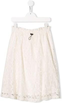 Andorine Lace Detail Skirt
