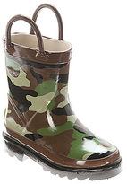 Western Chief Boys' Camo Rain Boot