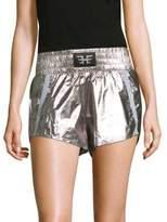 Heroine Sport Metallic Sports Shorts