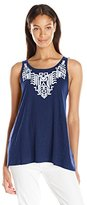 RD Style Women's Embroidered Tank Top