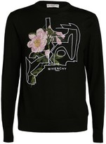 Givenchy Wool Peony Print Sweater