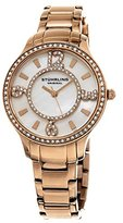 Stuhrling Original Women's 559.05 Symphony Analog Display Quartz Rose Gold Watch