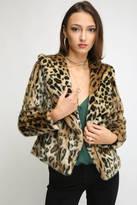 Chaser Leopard Fur Coat