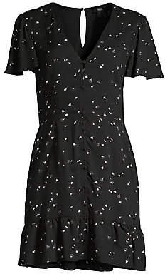 Paige Women's Rosetta Button-Front Dress