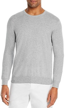 Bloomingdale's The Men's Store at Cotton Blend Crewneck Sweater - 100% Exclusive