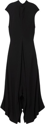 Proenza Schouler Crepe Mock Neck Dress