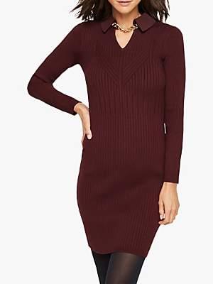 Damsel in a Dress Stefania Collar Chain Detail Knitted Dress