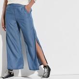 k / lab k/lab Slit Wide Leg Jeans