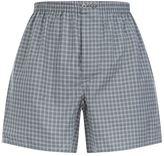 Zimmerli Gingham Check Boxer Shorts
