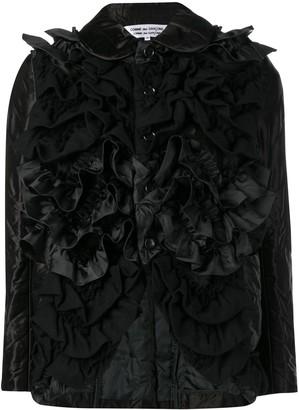 Comme des Garçons Comme des Garçons Fitted Ruffled Jacket
