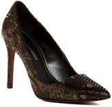 Donald J Pliner Phillo Snake Print Pump