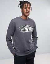 Vans Sweatshirt In Black
