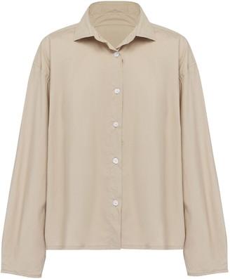 Deiji Studios The Oversized Poplin Shirt