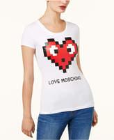 Love Moschino Heart Graphic T-Shirt