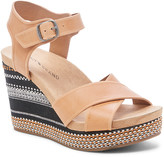 Lucky Brand Women's Sandals DESERT - Desert Yarosan Leather Wedge Sandal - Women