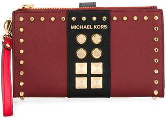 MICHAEL Michael Kors Adele multi-compartment studded wallet
