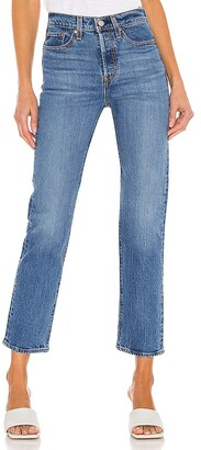 Levi's Wedgie Straight Ankle