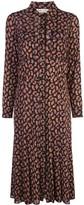 Diane von Furstenberg paisley print midi dress