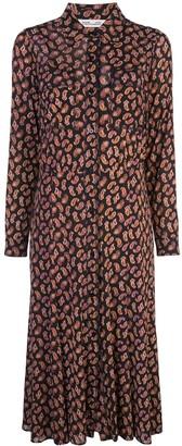Dvf Diane Von Furstenberg Paisley Print Midi Dress