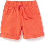 Old Navy Jersey Rolled-Cuff Shorts for Baby
