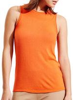 Lauren Ralph Lauren Petite Silk Blend Sleeveless Sweater