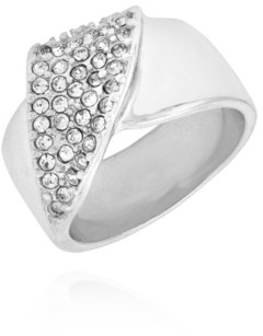 T Tahari Wrapped in Ribbons Band Ring