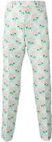 Gucci floral jacquard trousers - men - Silk/Polyester/Viscose - 50