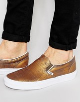 Vans Slip-On Metallic Sneakers