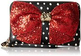 Betsey Johnson Bow-Lesque Wallet