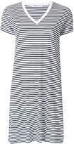 Alexander Wang striped T-shirt dress