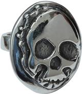 Femme Metale Jewelry Creeper Skull Ring