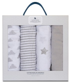 Living Textiles Lolli Living Baby Bento Gift Set - Knitted Plush Toy + Knitted Blanket Bedding
