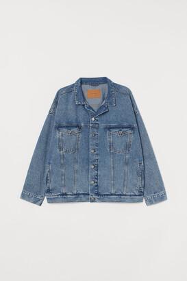H&M H&M+ Oversized denim jacket