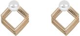 Accessorize Pearl Diamond Stud Earrings