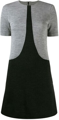 Givenchy two-tone T-shirt dress