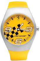 Ferrari Men's FW02 Rubber Analog Quartz Watch with Dial
