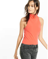 Express one eleven abbreviated mock neck tank