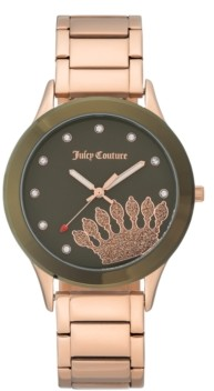 Juicy Couture Woman's Juicy Couture, 1052OLRG Bracelet Watch