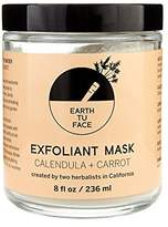 Earth Tu Face Organic Calendula + Carrot Exfoliant Powder Mask by