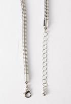 Forever 21 Boomerang Popcorn Bib Necklace
