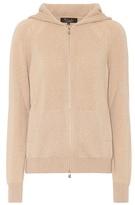 Loro Piana Bomber baby cashmere hoodie